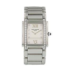 Patek Philippe Twenty-4 4910/10A Ladies Diamond Watch