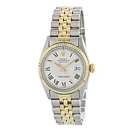 Rolex Oyster Perpetual Datejust 1601 Buckley Dial Mens Watch