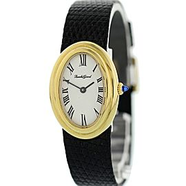 Bueche Girod Vintage 18K Yellow Gold Ladies Watch