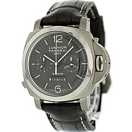 Panerai Luminor 1950 Chrono Monopulsante PAM311 8 Days GMT Titanio Mens Watch