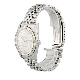 Rolex Datejust 1601 Diamond Dial Mens Watch