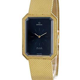 Omega De Ville Vintage 18k Yellow Gold Watch