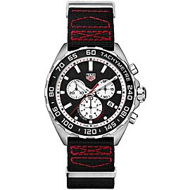 TAG HEUER FORMULA 1 CAZ101E-FC8228 QUARTZ CHRONOGRAPH RED BLACK NATO STRAP WATCH