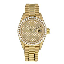 Rolex Datejust Pleiade Dial 69138 Ladies Watch