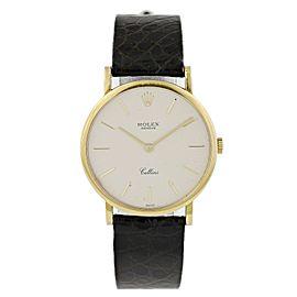 Rolex Cellini 5112 18k Gold Watch