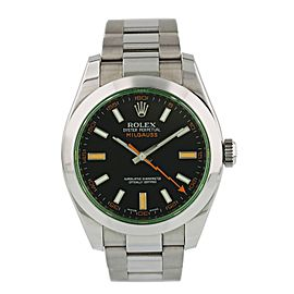 Rolex Milgauss 116400GV Mens Watch