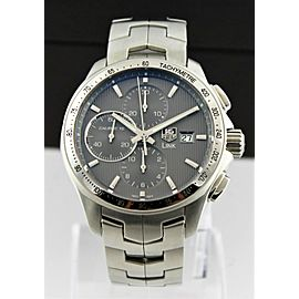 GIFT IDEA TAG HEUER LINK CAT2013.BA0952 AUTOMATIC CHRONOGRAPH MENS GRAY WATCH
