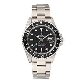 Rolex GMT Master 16700 Men's Watch Box Papers