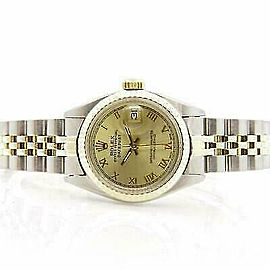 Rolex Datejust 6917 26mmSteel & Yellow Gold Champagne Women's Automatic