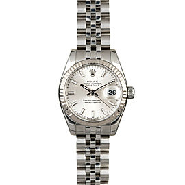 Rolex Datejust 179174 26mmStainless Steel Silver Index Women's Automatic