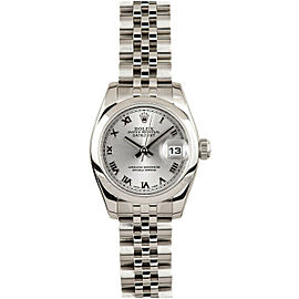 Rolex Datejust 179160 26mmStainless Steel Silver Roman Women's Automatic
