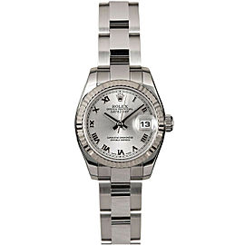 Rolex Datejust 179174 26mmStainless Steel Silver Roman Women's Automatic