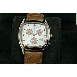 David Yurman Watch Thoroughbred Diamond Chronograph Pink MOP T307-CST