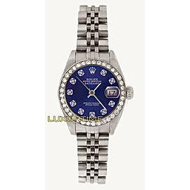 Rolex Datejust 26mm 69174 Women's Stainless Steel 26mm 1 Year Warranty