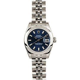 Rolex Datejust 26mm 179160 Women's Stainless Steel 26mm 1 Year Warranty