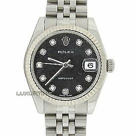 Rolex Datejust 31mm 178274 Women's White Gold 31mm Automatic 1 Year Warranty
