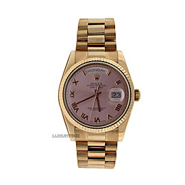 Rolex Day-Date 36mm 118235 Men's Rose Gold 36mm Automatic 1 Year Warranty