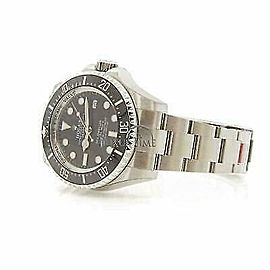 Rolex Sea-Dweller 116660 Men's Stainless Steel 44mm Automatic 1 Year Warranty