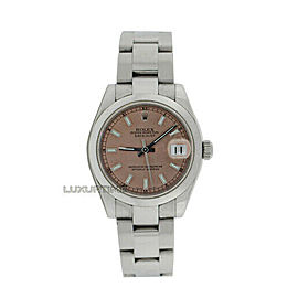 Rolex Datejust 31mm 178240 Women's Stainless Steel 31mm 1 Year Warranty