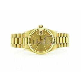 Rolex Datejust 31mm 68278 Women's Yellow Gold 31mm Automatic 1 Year Warranty