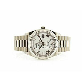 Rolex Day-Date 40mm 228239 Men's White Gold 40mm Automatic 1 Year Warranty