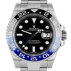 Rolex GMT Master II 116710 Men's Stainless Steel 40mm Automatic 1 Year Warranty