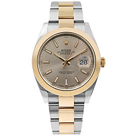 Rolex Datejust II 126301 Men's Rose Rose Gold 41mm Automatic 1 Year Warranty