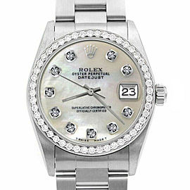 Rolex Datejust 31mm 78240 Lady Stainless Steel Automatic White MOP 1YrWarranty