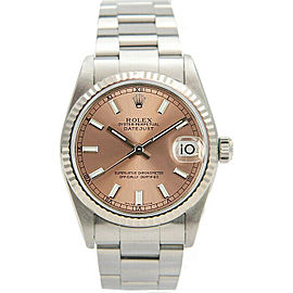Rolex Datejust 31mm 78274 Women's Stainless Steel Automatic Salmon 1YrWarranty