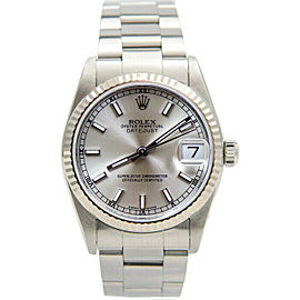 Rolex Datejust 31mm 78274 Women's Stainless Steel Automatic Silver 1YrWarranty