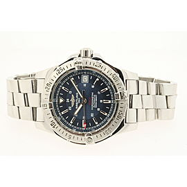 Breitling Mens Watch A17380 Colt Blue Dial Automatic 41mm Stainless Steel