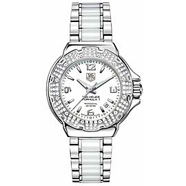 TAG HEUER FORMULA 1 WAC1215.BA0861 DIAMOND LADIES SWISS CERAMIC LUXURY WATCH