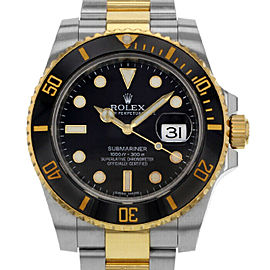 Rolex Submariner 116613 Men's Stainless Steel Automatic Black 1 Year Warranty