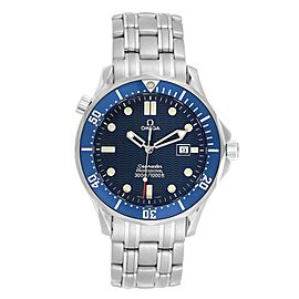 Omega Seamaster 41mm James Bond Blue Dial Steel Watch 2541.80.00