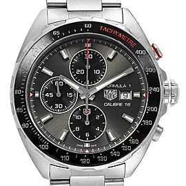 Tag Heuer Formula 1 Calibre 16 Chronograph Mens Watch CAZ2012 Box
