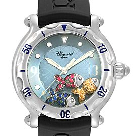 Chopard Happy Beach Floating Rubi Sapphire Fish Ladies Watch 288347