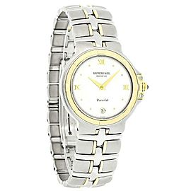 Raymond Weil 9190 Parsifal Two Tone 18K Yellow Gold Stainless Steel Watch