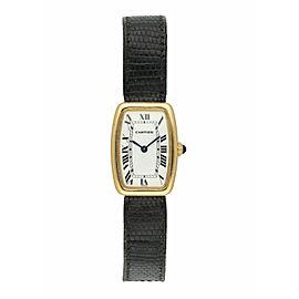 Cartier Tank Fabergé Yellow Gold Rare Ladies Watch
