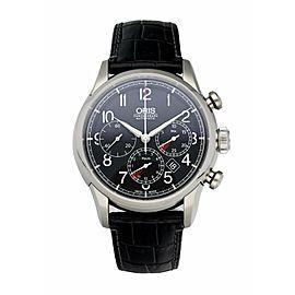 Oris RAID Chronograph 67676034084 Limited Edition Men's Watch Box & Papers