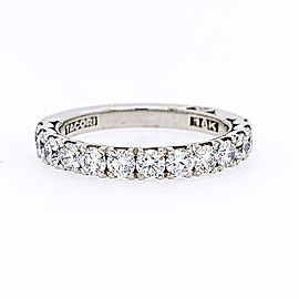 Tacori 18k White Gold Diamond Ring