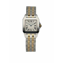 Cartier Santos Demoiselle 2698 Two-Row Ladies Watch
