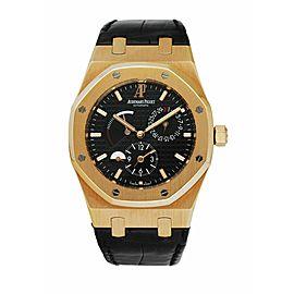 Audemars Piguet Royal Oak Dual Time 26120OR 18K Rose Gold Men's Watch