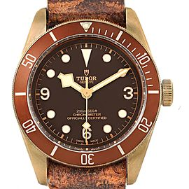 Tudor Heritage Black Bay Bronze Dial Mens Watch 79250 Box Card