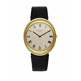 Patek Philippe 3594 Golden Ellipse 18K Yellow Gold Men's Watch
