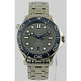 OMEGA SEAMASTER 210.30.42.20.06.001 AUTOMATIC CO AXIAL CERAMIC MEN'S GRAY WATCH