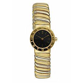 Bvlgari Tubogas BB 23.2T 18K Yellow & White Gold Ladies Watch