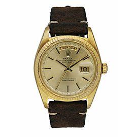 Rolex Day Date 1803 18K Yellow Gold Men's Watch
