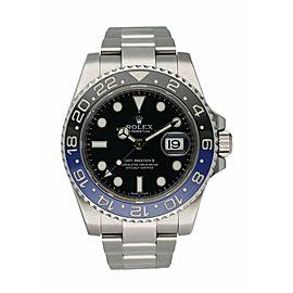 Rolex GMT Master II 116710 Batman Men's Watch Box & Paper