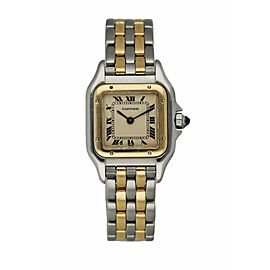 Cartier Panthere Two Row Ladies Watch
