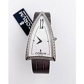 Corum Ladies Rocket Watch Ref 024.941.47 Stainless Steel with Diamonds Box Paper